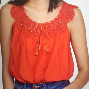 NWT Free People Clover Croft Crochet Camisole